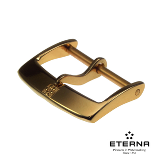 Eterna pin buckle plated