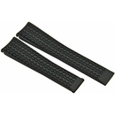 TAG Heuer  rubber watch band black for Carrera Cal. 1887...