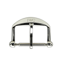 IWC pin buckle steel 16 mm polished finish