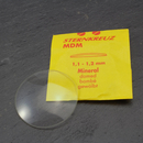 Curved mineral glass for watches normal thickness 1.1-1.2...
