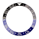 Ceramic bezel inlay for Rolex GMT Master Black/Blue
