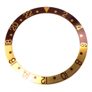 Bezel inlay for Rolex sport model Brown/Pink GMT-Master...