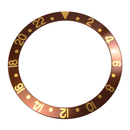 Bezel inlay for Rolex sport model Brown GMT-Master I 16718