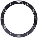 Ceramic bezel inlay for Rolex Submariner black