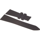 ZENITH caoutchouc strap 23mm black for various ZENITH...