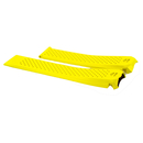 TAG Heuer rubber watch band yellow for TAG Heuer...