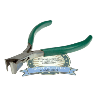 Head cutter pliers with stable cutting jaws