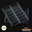 Sorting box for storage acrylic box 12 compartments Made...