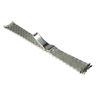 Bracelet, Jubile style, steel, concealed clasp, 20 mm, compatible to Rolex