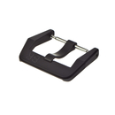 Genuine BELL & ROSS pin buckle 18 mm steel PVD black for...