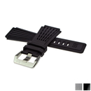 Genuine BELL & ROSS rubber bracelet black with clasp for...