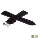 ZENITH caoutchouc strap 21mm black for with pin buckle...