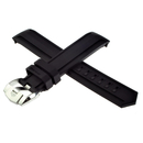 TAG Heuer rubber bracelet black 20 mm for Aquaracer...