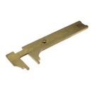 AURIFEX Vernier gauge/ calipers in brass with metric scale