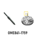 Stem-bolt for hammer 1759 compatible to Omega 860, 861,...