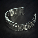 Steel bracelet New Oyster 20mm SEL compatible to Rolex...